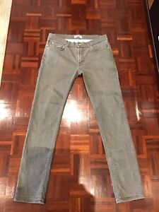 """Mens ACNE JEANS SIZE 34"""" L 34"""" Slim Straight Fit.."""