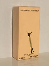 ALESSANDRO DELL'ACQUA  EDT 25ML NEW  SEALED  FOR WOMAN RARE DISCONTINUED