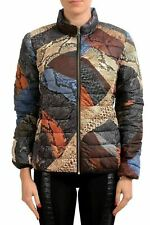 Just Cavalli Women's Multi-Color Reverisble Lightly Insulated Jacket US S IT 40