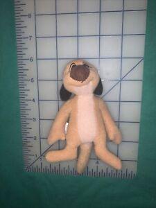McDonalds Disney Lion King II Simbas Pride Timon Meerkat Plush Happy Meal Toy