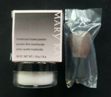 Mary Kay translucent loose powder with brush purse or travel size .06  New