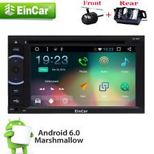 Android 6.0 Double 2 Din Car Stereo Radio GPS Wifi OBD2 Mirror Link DVD Player