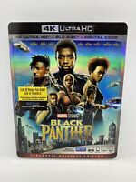 Black Panther 4K Ultra HD/Blu-Ray/Digital Code Cinematic Universe Ed Slipcover