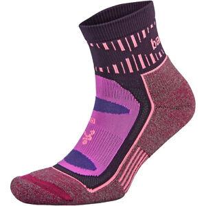 Balega Blister Resist Quarter Running Socks - Pink/Wildberry