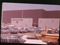 1970s  Photo slide Palmdale CA  Lockheed building   cars HD22