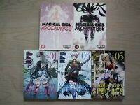 Magical Girl Apocalypse 9-10, Lot of 5 Shonen Manga, English, 16+, Kentaro Sato