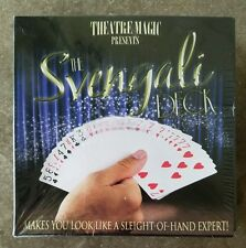 Theatre Magic Svengali Deck Brand New 50 Card Magic Tricks Game DVD