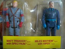 K160046 MATT TRAKKER & MILES MAYHEM M.A.S.K. MASK MOC MINT ON SEALED ON CARD