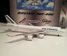 Gemini Jets GJAFR130 Air France 1/400 scale Boeing 747-400 F-GITB model avion