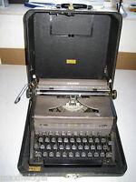 Refurbished Royal Arrow Portable Manual Typewriter w/hard case, warranty