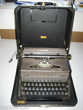 Refurbished Royal Arrow Portable Manual Typewriter w/hard case, warranty