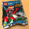 SACHET POLYBAG LEGO MINIFIGURE THEME CITY LE PLONGEUR SOUS MARIN ET LE REQUIN