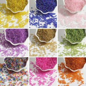 100-500Pcs 2 3 4mm Glass Loose Beads DIY For Jewelry Making Wholesale Pendant