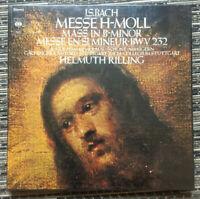 Coffret J.S.Bach Messe H-Moll Helmuth Rilling CBS 79307 Baroque Vinyle Neuf