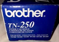 NEW Genuine Brother Toner Cartridge Black TN-250 FAX MFC DCP MFC Ink