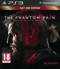 jeu METAL GEAR  SOLID V The Phantom Pain Day One Edition Playstation 3  PS3 NEUF