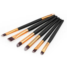 6 PCS Pro Makeup Cosmetics Brushes Eye Shadows Eyeliner Brush Tool Set For Lady