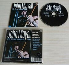 CD ALBUM LIVE AT THE MARQUEE 1969 JOHN MAYALL 7 TITRES 1999