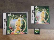 jeu nintendo DS: La fée clochette – complet
