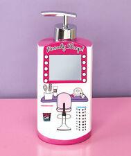 Novelty Hair Salon Bath Accessory Curler Shaped Polka Dot Glam Chic Girls Set