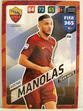 Panini Adrenalyn XL FIFA 365 2018 - #236 Kostas Manolas - AS Roma