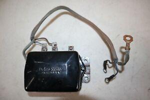 Original GM Voltage Regulator for 1955-1962 Corvettes - P/N 1119001
