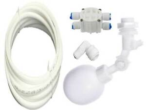 Automatic SHUT OFF KIT for Aquarium, RO Filters, Window Cleaning + 3 Metres Tube