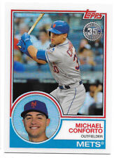 Michael Conforto 2018 TOPPS SERIES 2 Silver Pack 1983 Chrome Refractor #91 Mets