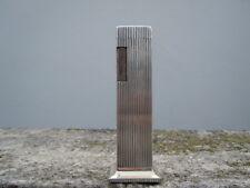 Briquet de table Lord de Lux métal argenté vers 1970