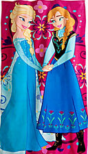 Disney~FROZEN~Elsa & Anna~Beach Towel~Disney Store Exclusive~NWT