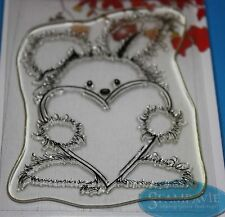 NUOVO Stampavie Penny Johnson 'Coccole'S CLEAR STAMP PEN12-San Valentino!
