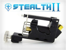 STEALTH 2.0 SET Aluminum Rotary Tattoo Machine Liner Shader Supply Ink (BLACK)