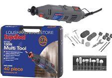 135w Multi Tool Mini Trapano Kit con Accessori e Custodia LEVIGATRICE SMERIGLIATRICE di fresatura