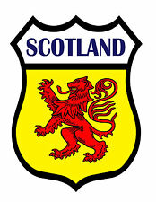 1 x Scotland Flag Static Cling Sticker Decal Ideal for Cars Bikes Windows etc