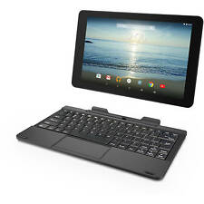 "RCA Viking Pro 10.1"" 2-in-1 Tablet 32GB Quad Core Android 5.0 (Lollipop), Charco"
