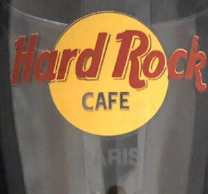 Hard Rock Cafe Pilsner Beer Glass PARIS