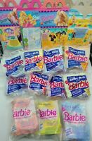 1991 / 1992 McDonald's Happy Meal Barbie Dolls LOT of ELEVEN + 3 Boxes