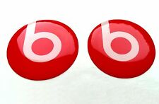 BEATS AUDIO 3D domed sticker badge 25mm size (Set of 2)
