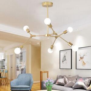 Modern Flush Mount Ceiling Light Kitchen Chandelier Lighting Gold Pendant Light