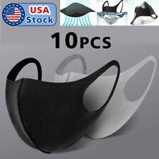 10PACK Unisex Face Mask Reusable Washable Cover Masks Fashion Men Women