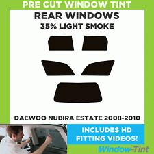 Pre Cut Window Tint - Daewoo Nubira Estate 2008-2010 - 35% Light Rear