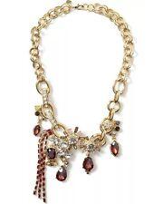 New Banana Republic Treasure Trove Berry Chain Necklace Jewelry Stones