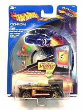 Hot Wheels 2001 CD-ROM Electrical Energy Basic Power Car 1:64 Die Cast Black MOC
