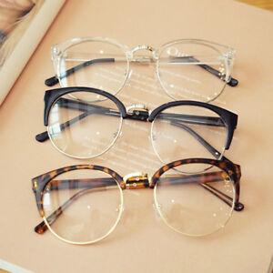 Transparent Spectacle Frame Anti-fatigue Cat Eyes Men's Glasses Women Eyeglasses