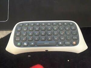 OEM Microsoft Xbox 360 Chat Pad Keyboard White