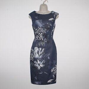 Womens PHASE EIGHT Mabel Print Multicoloured Sleeveless Pencil Dress UK 8 RPP99£