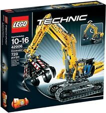Lego Technic BNIB 42006 EXCAVATOR YELLOW CONSTRUCTION TRUCK CRANE