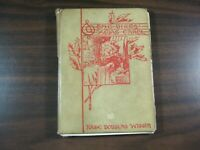 Vtg 1907 The Birds of Xmas Carol Kate Douglas Wiggen Popular Edition Red & White