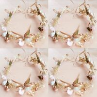 Bridal Headpiece Flower Hair Band Wreaths Wedding Garland Floral Crown