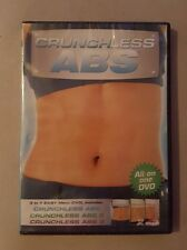 Workout Video Crunchless Abs 1 2 3 (All on 1 DVD) Linda Larue NEW